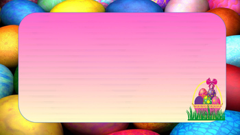 Free Easter Egg Powerpoint Template