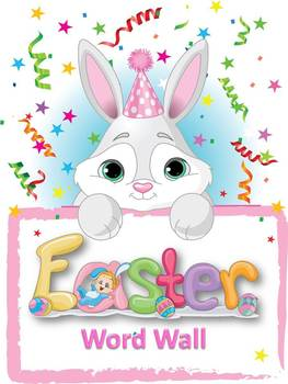 Easter Powerpoint and Word Wall Instructional Set