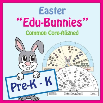 Spring Pre-K / Kindergarten Math & Literacy Centers