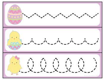 Easter Pre-Writing Practice
