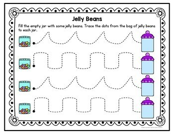 Easter Pre-Writing Printables