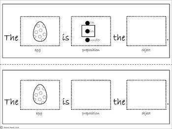 Easter Preposition Activities