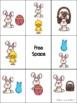Easter Preposition Bingo