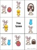 Easter Preposition Bingo