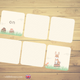 Easter Prepositions Memory Game⎜ Where is the Easter bunny