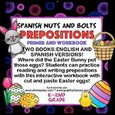 Easter Prepositions/Preposiciones para Pascua: A Workbook