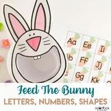 Easter Preschool Activity - Feed the Bunny