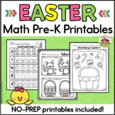 Easter Math Preschool Printables and Sorting Activity