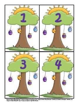 Easter Preschool Printable