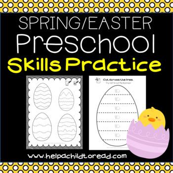 Easter Preschool Skills Pages