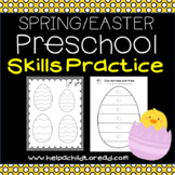 Easter Preschool Skills Pages