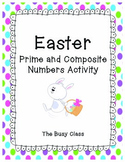 Easter Prime and Composite Numbers Activity