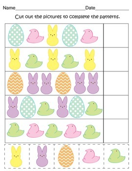 Easter Print and Go Activity Pack