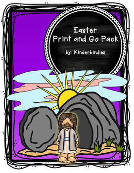 Easter Print and Go Bible Pack
