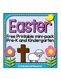 Easter Printable Mini-Pack for Preschool