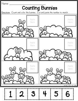 Easter Preschool Morning Work