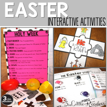Easter and Holy Week Activities