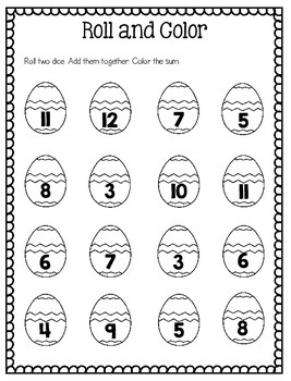 Easter Printables with Emergent Reader and Craftivity