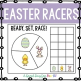 Easter Probability Spin and Graph Mat for Preschool, Prek, and Kindergarten