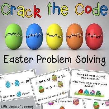 Easter Problem Solving: Crack the Code!