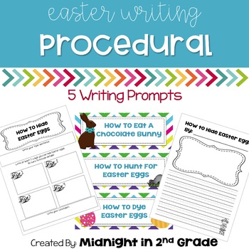 Easter Procedural Writing