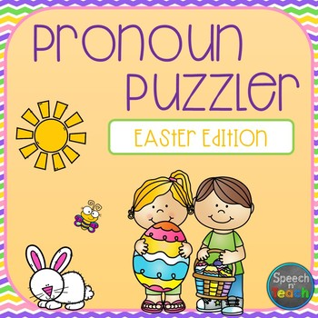 Easter Pronoun Puzzler *DOLLAR DEAL*