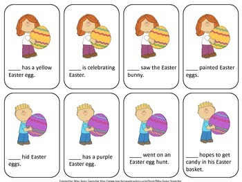 Easter, Pronouns and Prepositions, Oh My!