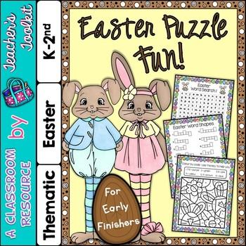 Easter Puzzle Fun! {UK Teaching Resource}