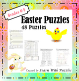 Easter Puzzles - 48 Unique Easter Puzzles Collection