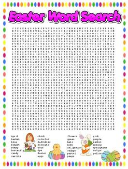 Easter (April) Puzzles