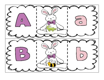 Easter Puzzles ~ Alphabet, Colors, Numbers, and Shapes