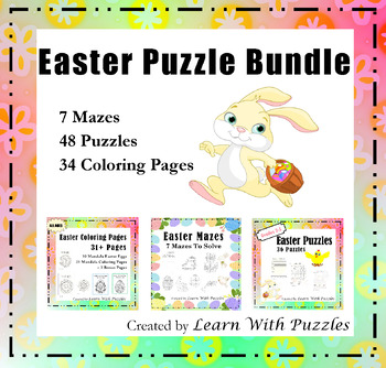 Free Online Printable Kids Games - Easter Egg Hunt Maze | Coloring ... | 334x350