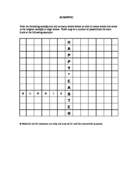 Easter Puzzles and Activities (3)