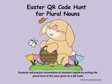 Easter QR Code Hunt for Plural Nouns