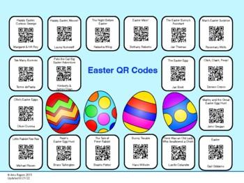 Easter QR Codes