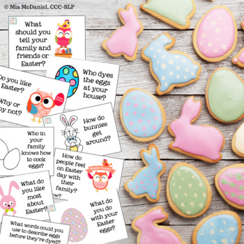 Easter Questions {and games}