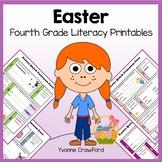 Easter No Prep Common Core Literacy (fourth grade)