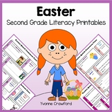 Easter No Prep Common Core Literacy (second grade)