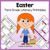 Easter No Prep Common Core Literacy (third grade)