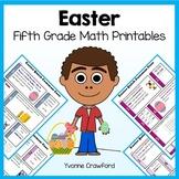 Easter No Prep Common Core Math (fifth grade)