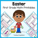 Easter No Prep Common Core Math (first grade)