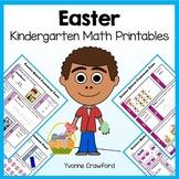 Easter No Prep Common Core Math (kindergarten)