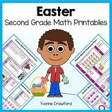 Easter No Prep Common Core Math (second grade)