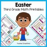 Easter No Prep Common Core Math (third grade)