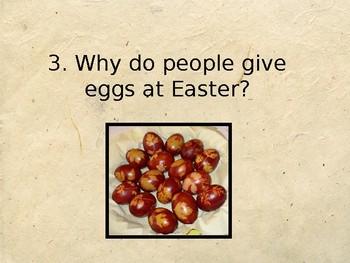 Easter Quiz – True or False Activity / Presentation