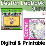 Easter Rabbit Activities Interactive Notebook Digital and
