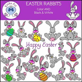 Easter Rabbit Clip Art
