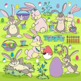 Easter Rabbit Clipart