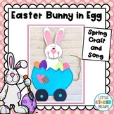 Easter Bunny in Egg Cart Craft and Song