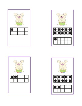 Easter Rabbits 1-30 Ten Frames
